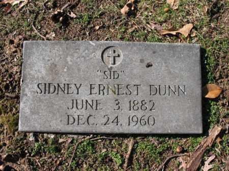 "DUNN, SIDNEY ERNEST ""SID"" - Cross County, Arkansas   SIDNEY ERNEST ""SID"" DUNN - Arkansas Gravestone Photos"