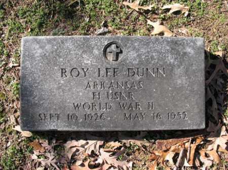 DUNN (VETERAN WWII), ROY LEE - Cross County, Arkansas | ROY LEE DUNN (VETERAN WWII) - Arkansas Gravestone Photos