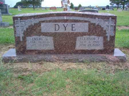 DYE, EMERY S - Cross County, Arkansas | EMERY S DYE - Arkansas Gravestone Photos