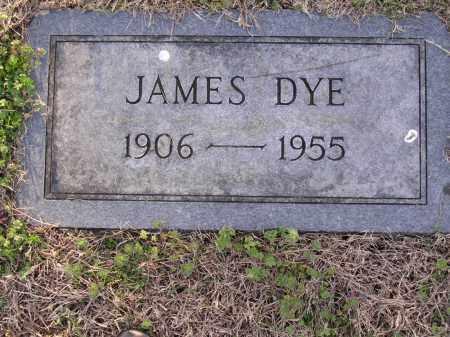DYE, JAMES - Cross County, Arkansas | JAMES DYE - Arkansas Gravestone Photos