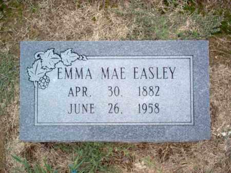 EASLEY, EMMA MAE - Cross County, Arkansas | EMMA MAE EASLEY - Arkansas Gravestone Photos
