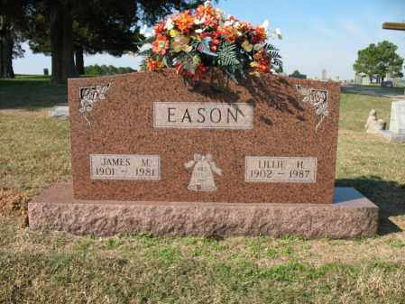 EASON, JAMES M - Cross County, Arkansas | JAMES M EASON - Arkansas Gravestone Photos