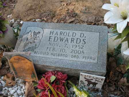 EDWARDS, HAROLD DELANE - Cross County, Arkansas | HAROLD DELANE EDWARDS - Arkansas Gravestone Photos