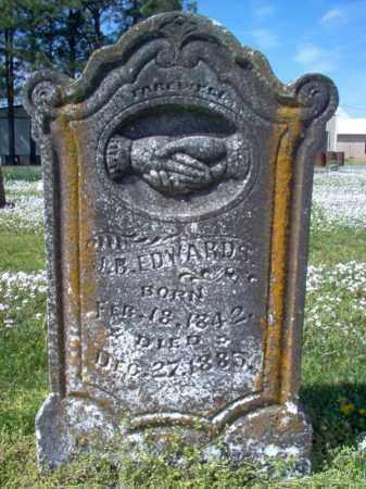 EDWARDS, J B - Cross County, Arkansas | J B EDWARDS - Arkansas Gravestone Photos