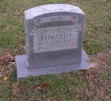 EDWARDS, JESSIE H - Cross County, Arkansas   JESSIE H EDWARDS - Arkansas Gravestone Photos