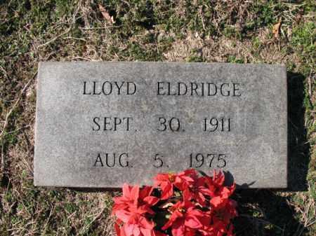 ELDRIDGE, LLOYD - Cross County, Arkansas | LLOYD ELDRIDGE - Arkansas Gravestone Photos