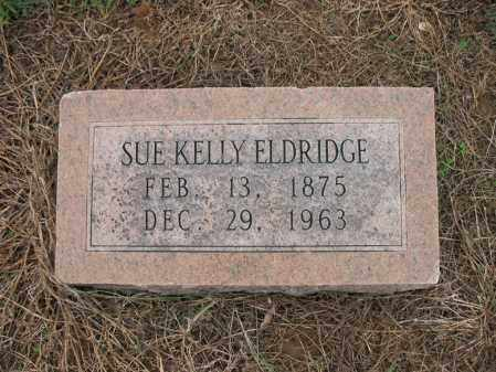 KELLY ELDRIDGE, SUE - Cross County, Arkansas | SUE KELLY ELDRIDGE - Arkansas Gravestone Photos
