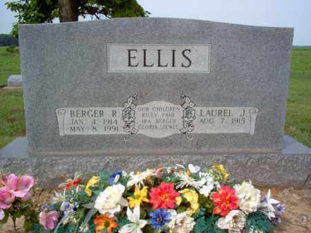 ELLIS, BERGER R - Cross County, Arkansas | BERGER R ELLIS - Arkansas Gravestone Photos