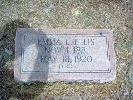 ELLIS, EMMA L - Cross County, Arkansas | EMMA L ELLIS - Arkansas Gravestone Photos