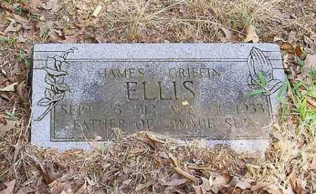 ELLIS, JAMES GRIFFIN - Cross County, Arkansas | JAMES GRIFFIN ELLIS - Arkansas Gravestone Photos