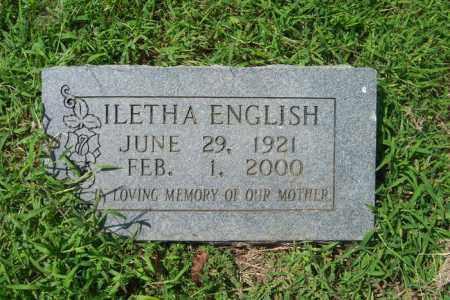 ENGLISH, ILETHA - Cross County, Arkansas | ILETHA ENGLISH - Arkansas Gravestone Photos