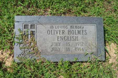 ENGLISH, OLIVER HOLMES - Cross County, Arkansas | OLIVER HOLMES ENGLISH - Arkansas Gravestone Photos