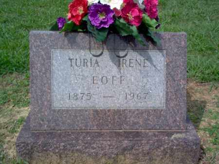 EOFF, TURIA IRENE - Cross County, Arkansas | TURIA IRENE EOFF - Arkansas Gravestone Photos