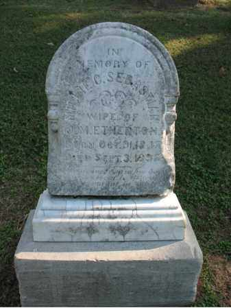 ETHERTON, MILLIE C - Cross County, Arkansas | MILLIE C ETHERTON - Arkansas Gravestone Photos