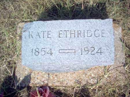 ETHRIDGE, KATE - Cross County, Arkansas | KATE ETHRIDGE - Arkansas Gravestone Photos