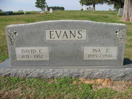 EVANS, INA E - Cross County, Arkansas | INA E EVANS - Arkansas Gravestone Photos