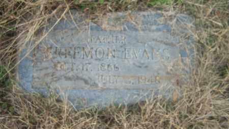EVANS, FREEMON - Cross County, Arkansas | FREEMON EVANS - Arkansas Gravestone Photos
