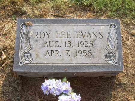 EVANS, ROY LEE - Cross County, Arkansas | ROY LEE EVANS - Arkansas Gravestone Photos