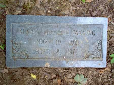 MCCLAIN FANNING, SEARCY - Cross County, Arkansas | SEARCY MCCLAIN FANNING - Arkansas Gravestone Photos