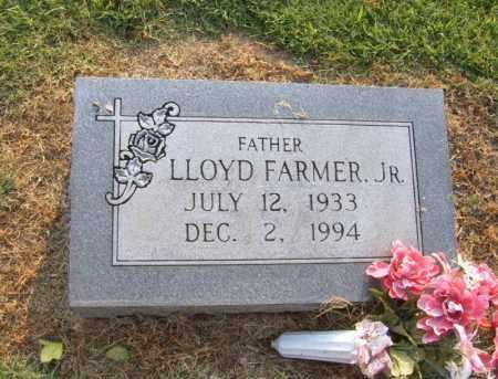 FARMER, JR, LLOYD L - Cross County, Arkansas | LLOYD L FARMER, JR - Arkansas Gravestone Photos