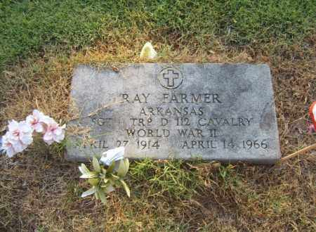 FARMER (VETERAN WWII), RAY - Cross County, Arkansas | RAY FARMER (VETERAN WWII) - Arkansas Gravestone Photos
