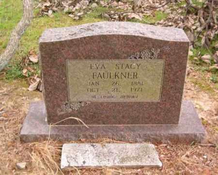 FAULKNER, EVA STACY - Cross County, Arkansas   EVA STACY FAULKNER - Arkansas Gravestone Photos