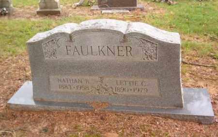 FAULKNER, NATHAN B. - Cross County, Arkansas   NATHAN B. FAULKNER - Arkansas Gravestone Photos