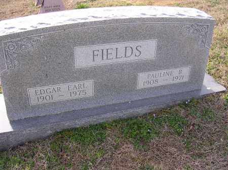 FIELDS, EDGAR EARL - Cross County, Arkansas   EDGAR EARL FIELDS - Arkansas Gravestone Photos