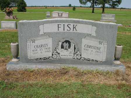 FISK, CHRISTINE - Cross County, Arkansas | CHRISTINE FISK - Arkansas Gravestone Photos