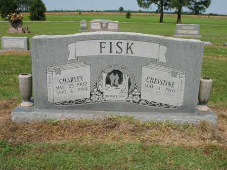 FISK, CHARLEY - Cross County, Arkansas | CHARLEY FISK - Arkansas Gravestone Photos