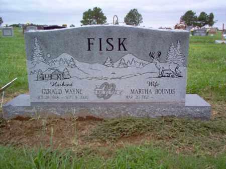 FISK, GERALD WAYNE - Cross County, Arkansas | GERALD WAYNE FISK - Arkansas Gravestone Photos