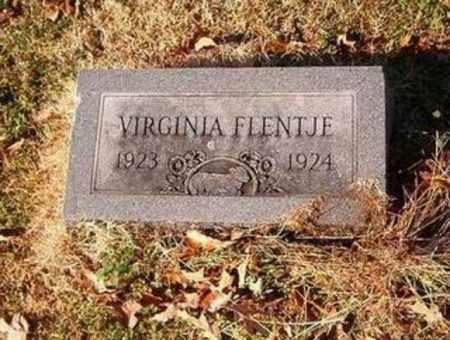 FLENTJE, VIRGINIA - Cross County, Arkansas   VIRGINIA FLENTJE - Arkansas Gravestone Photos