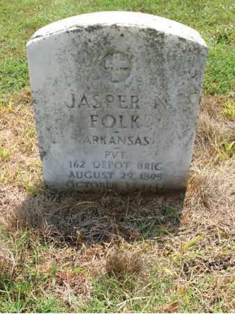 FOLK (VETERAN), JASPER N - Cross County, Arkansas | JASPER N FOLK (VETERAN) - Arkansas Gravestone Photos