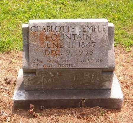 TEMPLE FOUNTAIN, CHARLOTTE - Cross County, Arkansas | CHARLOTTE TEMPLE FOUNTAIN - Arkansas Gravestone Photos