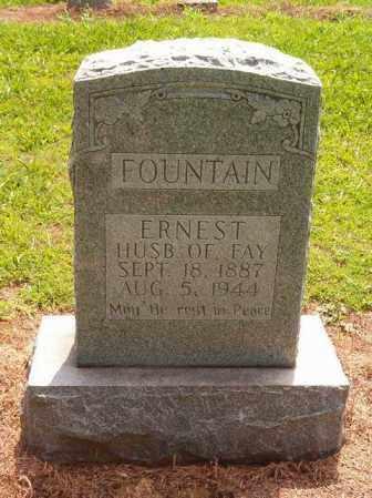 FOUNTAIN, ERNEST - Cross County, Arkansas   ERNEST FOUNTAIN - Arkansas Gravestone Photos