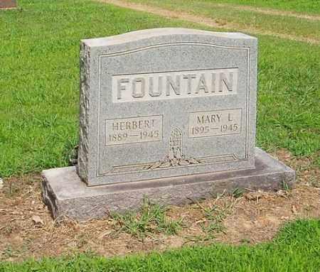 FOUNTAIN, MARY L. - Cross County, Arkansas | MARY L. FOUNTAIN - Arkansas Gravestone Photos
