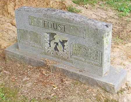 FOUST, CLINTON CHICK - Cross County, Arkansas | CLINTON CHICK FOUST - Arkansas Gravestone Photos