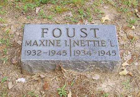 FOUST, MAXINE L. - Cross County, Arkansas | MAXINE L. FOUST - Arkansas Gravestone Photos