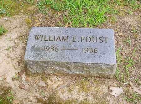 FOUST, WILLIAM E. - Cross County, Arkansas | WILLIAM E. FOUST - Arkansas Gravestone Photos