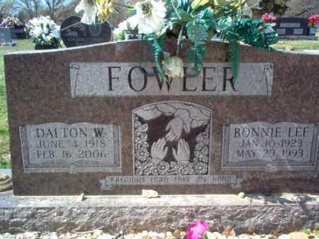 FOWLER, BONNIE LEE - Cross County, Arkansas | BONNIE LEE FOWLER - Arkansas Gravestone Photos
