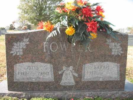 FOWLER, OTIS - Cross County, Arkansas | OTIS FOWLER - Arkansas Gravestone Photos