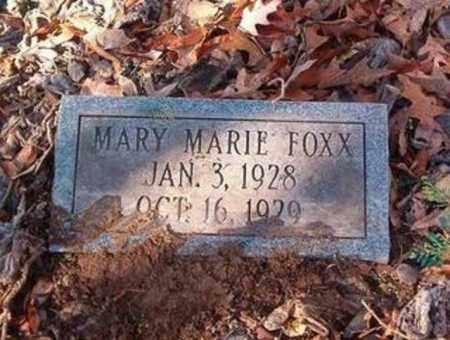 FOXX, MARY MARIE - Cross County, Arkansas | MARY MARIE FOXX - Arkansas Gravestone Photos