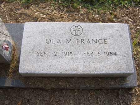 FRANCE, OLA M - Cross County, Arkansas | OLA M FRANCE - Arkansas Gravestone Photos