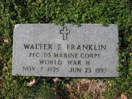 FRANKLIN, JR (VETERAN WWII), WALTER ELLIS - Cross County, Arkansas   WALTER ELLIS FRANKLIN, JR (VETERAN WWII) - Arkansas Gravestone Photos