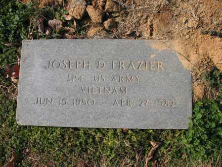 FRAZIER (VETERAN VIET), JOSEPH D - Cross County, Arkansas | JOSEPH D FRAZIER (VETERAN VIET) - Arkansas Gravestone Photos