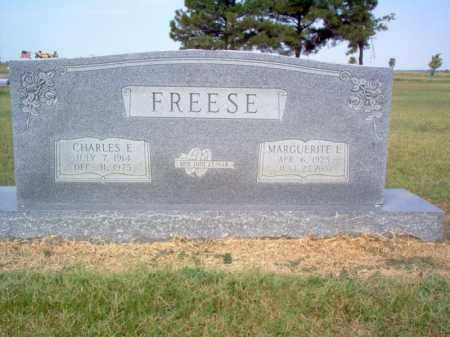 FREESE, CHARLES E - Cross County, Arkansas | CHARLES E FREESE - Arkansas Gravestone Photos