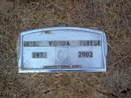 FREESE, VONDA - Cross County, Arkansas | VONDA FREESE - Arkansas Gravestone Photos