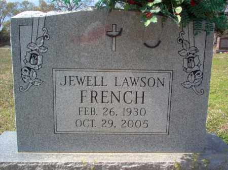 LAWSON FRENCH, JEWELL - Cross County, Arkansas | JEWELL LAWSON FRENCH - Arkansas Gravestone Photos