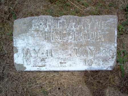 FRESHOUR, ROBERT WAYNE - Cross County, Arkansas   ROBERT WAYNE FRESHOUR - Arkansas Gravestone Photos
