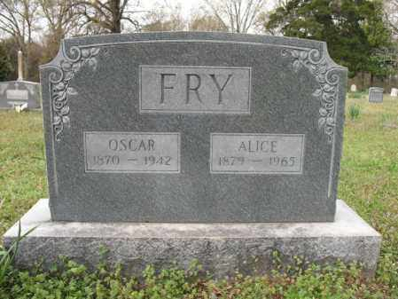 FRY, ALICE - Cross County, Arkansas | ALICE FRY - Arkansas Gravestone Photos